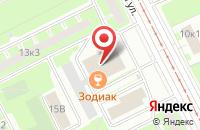 Схема проезда до компании Антарес в Санкт-Петербурге
