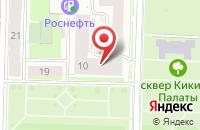 Схема проезда до компании Эконта в Санкт-Петербурге