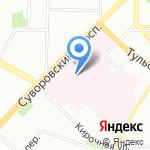 Клиника челюстно-лицевой хирургии и стоматологии на карте Санкт-Петербурга
