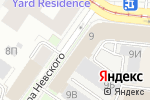 Схема проезда до компании Архитектурная мастерская Лидии Баллах в Санкт-Петербурге