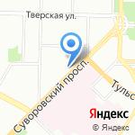 Единый центр страхования на карте Санкт-Петербурга