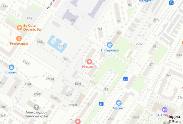 жилой комплекс Иван-да-Марья