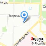 Петробумага на карте Санкт-Петербурга
