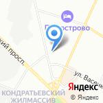 Общественная баня №72 на карте Санкт-Петербурга