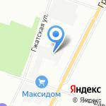 Варяг на карте Санкт-Петербурга