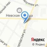 Алитер-Акси на карте Санкт-Петербурга