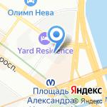 Стройнэт на карте Санкт-Петербурга