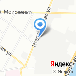 Центральная ТЭЦ на карте Санкт-Петербурга