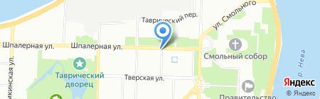 Juli на карте Санкт-Петербурга