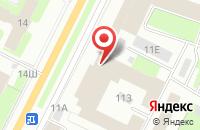 Схема проезда до компании Итц Азимут в Санкт-Петербурге