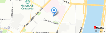 СБЕРФОНД на карте Санкт-Петербурга
