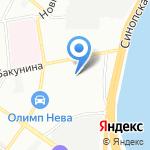 ГОСПОЖТЕХНИКА на карте Санкт-Петербурга