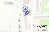 Схема проезда до компании ТФ СТРОЙКОМ в Коммунаре