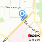 Крилони на карте Санкт-Петербурга