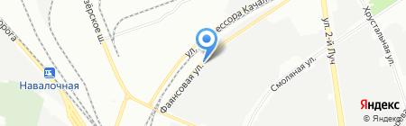 Доминион на карте Санкт-Петербурга