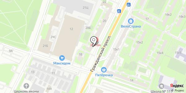 Современные полы. Схема проезда в Санкт-Петербурге