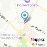 ФОНБЕТ на карте Санкт-Петербурга