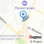 Ален на карте Санкт-Петербурга