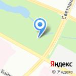 Муринский парк культуры и отдыха на карте Санкт-Петербурга