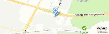 Сонет текнолоджис СПб на карте Санкт-Петербурга