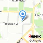 Прима на карте Санкт-Петербурга
