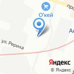 Мороз & Ко на карте Санкт-Петербурга