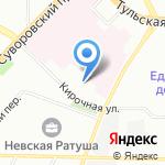 АРКОМ на карте Санкт-Петербурга