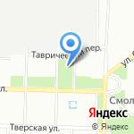 Детская музыкальная школа на карте Санкт-Петербурга