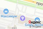 Схема проезда до компании ПитерСтройКонструкция в Санкт-Петербурге