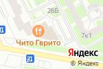 Схема проезда до компании ЮНИСТРИМ в Санкт-Петербурге