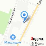 Агон Камин на карте Санкт-Петербурга
