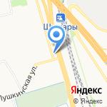 Шушарочка на карте Санкт-Петербурга