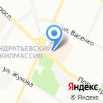 Ателье по ремонту одежды на карте Санкт-Петербурга