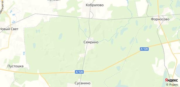 Семрино на карте