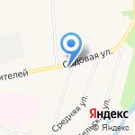 Коммунарский ветеринарный участок на карте Санкт-Петербурга
