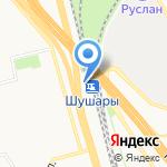 ТрансКонтейнер на карте Санкт-Петербурга