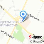 Север-метрополь на карте Санкт-Петербурга