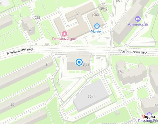 Управляющая компания «Комфорт-ПРО» на карте Санкт-Петербурга