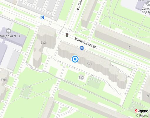Товарищество собственников жилья «Кристалл» на карте Санкт-Петербурга