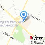 Серебряный ручей на карте Санкт-Петербурга