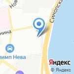 Российский союз молодежи в Санкт-Петербурге и Ленинградской области на карте Санкт-Петербурга