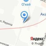 Flyspb на карте Санкт-Петербурга