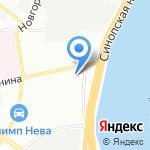 Водоконтроль на карте Санкт-Петербурга