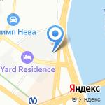 Профессиональная бухгалтерская помощь на карте Санкт-Петербурга