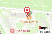 Схема проезда до компании Скала в Санкт-Петербурге