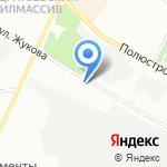 Аргента на карте Санкт-Петербурга
