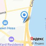 КераМакс Девелопмент на карте Санкт-Петербурга