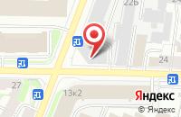Схема проезда до компании Интернет Сообщество Солнца.Ру в Санкт-Петербурге