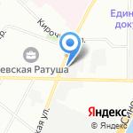Бебеля на карте Санкт-Петербурга