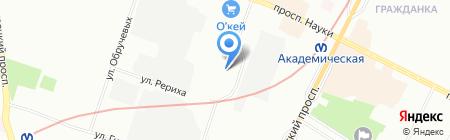 Fragile на карте Санкт-Петербурга